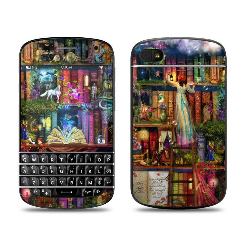 Treasure Hunt BlackBerry Q10 Skin