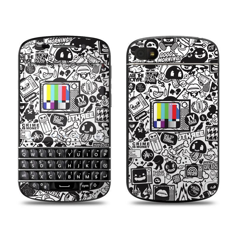 TV Kills Everything BlackBerry Q10 Skin