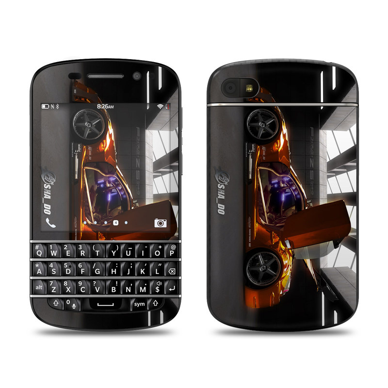 Z33 Light BlackBerry Q10 Skin