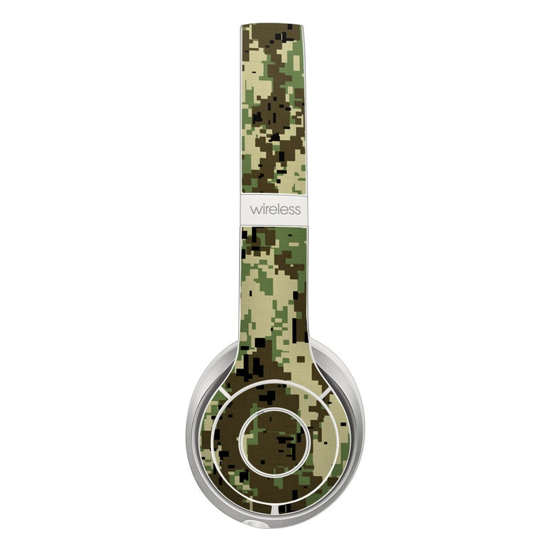 Digital Woodland Camo Beats Solo 2 Wireless Skin
