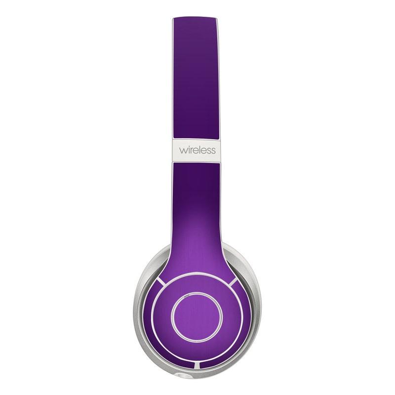 Purple Burst Beats Solo 2 Wireless Skin