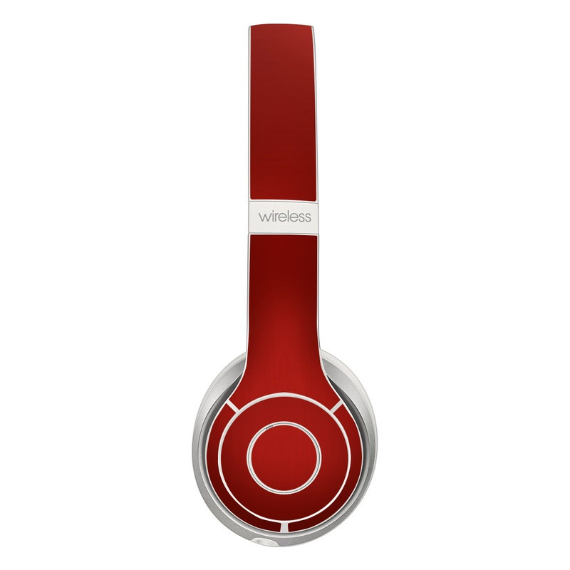 Beats Solo 2 Wireless Skin design of Red, Maroon, Orange, Brown, Peach, Pattern, Magenta with red colors