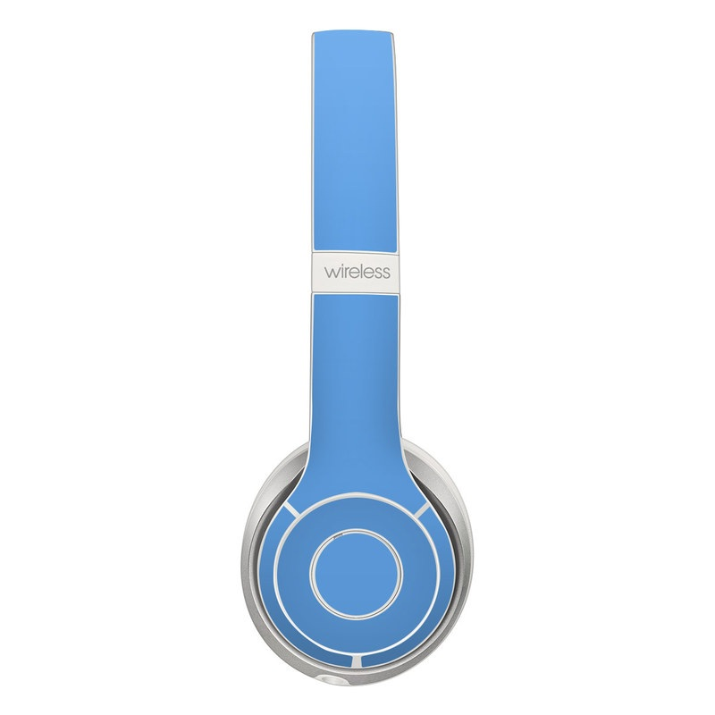 Beats Solo 2 Wireless Skin design of Sky, Blue, Daytime, Aqua, Cobalt blue, Atmosphere, Azure, Turquoise, Electric blue, Calm with blue colors