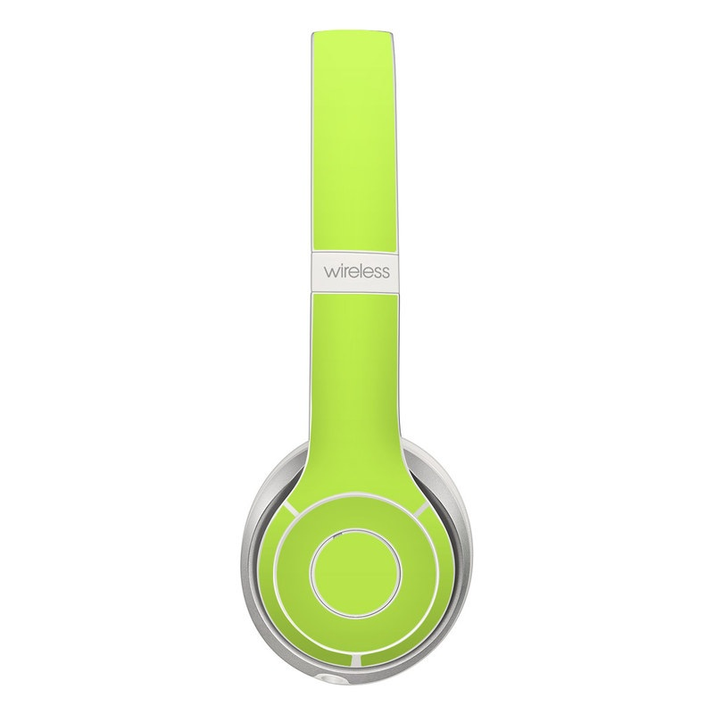 Solid State Lime Beats Solo 2 Wireless Skin