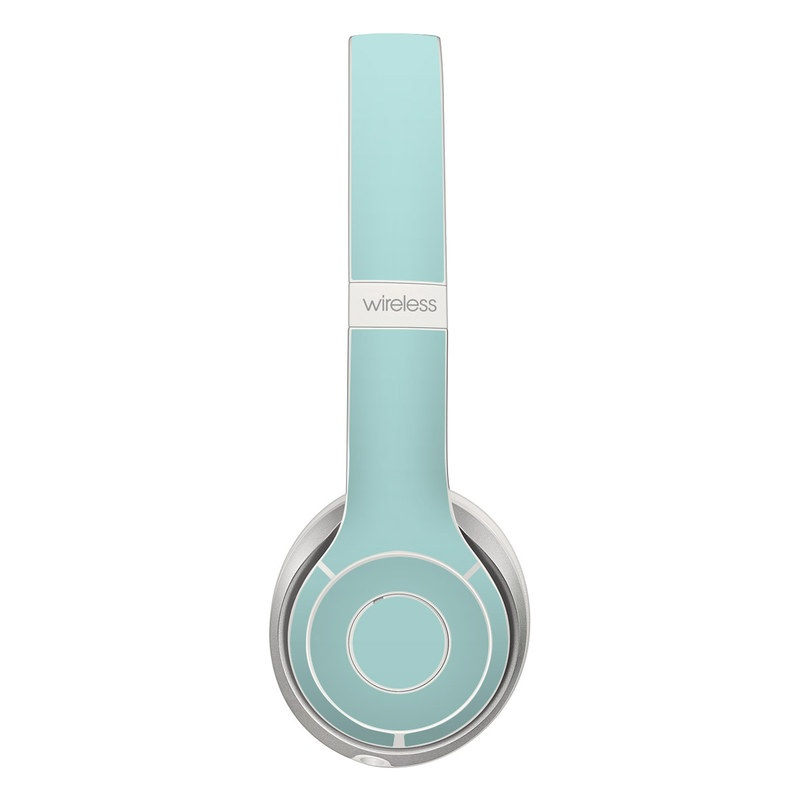 Beats Solo 2 Wireless Skin design of Green, Blue, Aqua, Turquoise, Teal, Azure, Text, Daytime, Yellow, Sky with blue colors