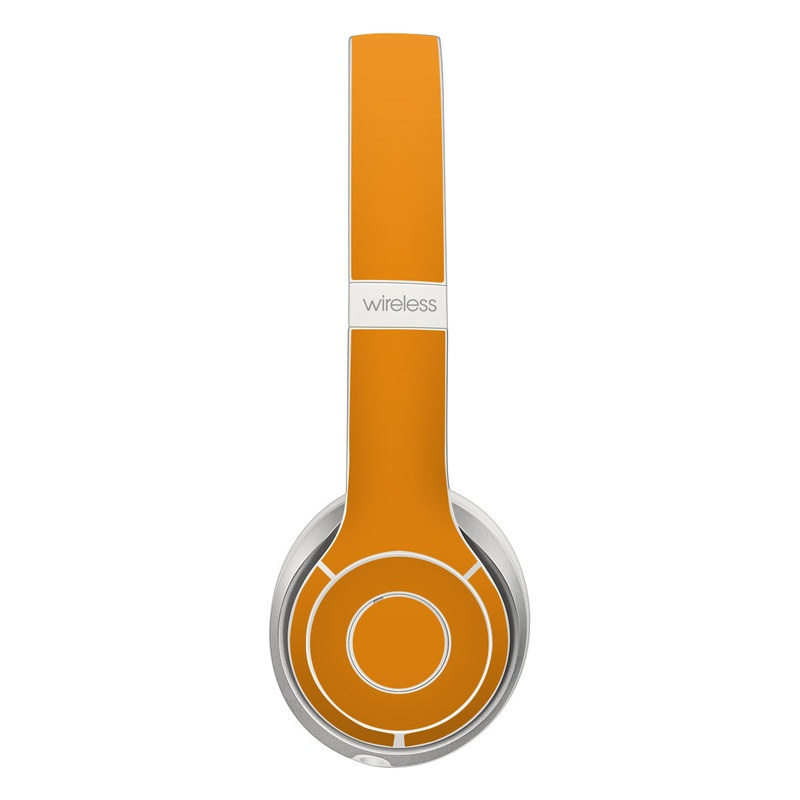 Solid State Orange Beats Solo 2 Wireless Skin