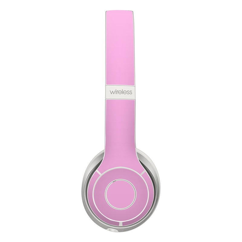 Solid State Pink Beats Solo 2 Wireless Skin