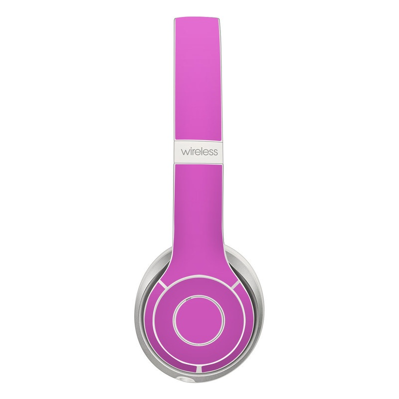 Solid State Vibrant Pink Beats Solo 2 Wireless Skin
