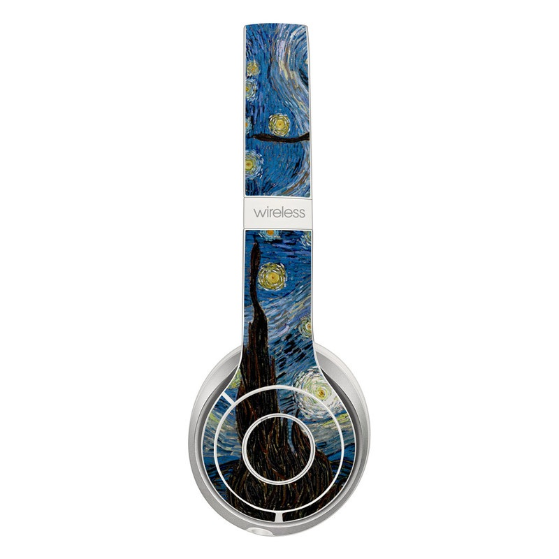 Beats Solo 2 Wireless Skin design of Painting, Purple, Art, Tree, Illustration, Organism, Watercolor paint, Space, Modern art, Plant with gray, black, blue, green colors
