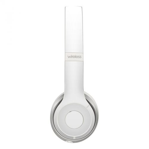 Solid State White Beats Solo 3 Wireless Skin