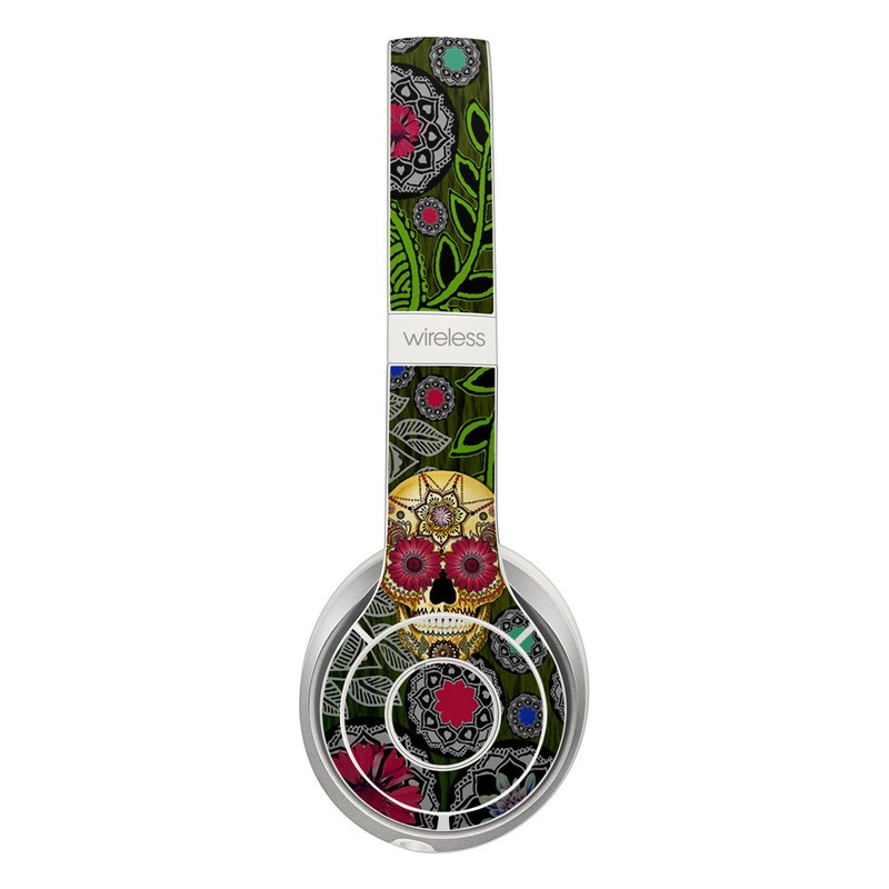 Sugar Skull Paisley Beats Solo 3 Wireless Skin