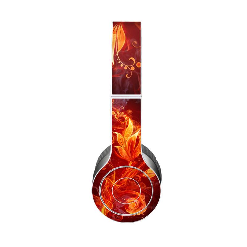 Flower Of Fire Beats Solo HD Skin
