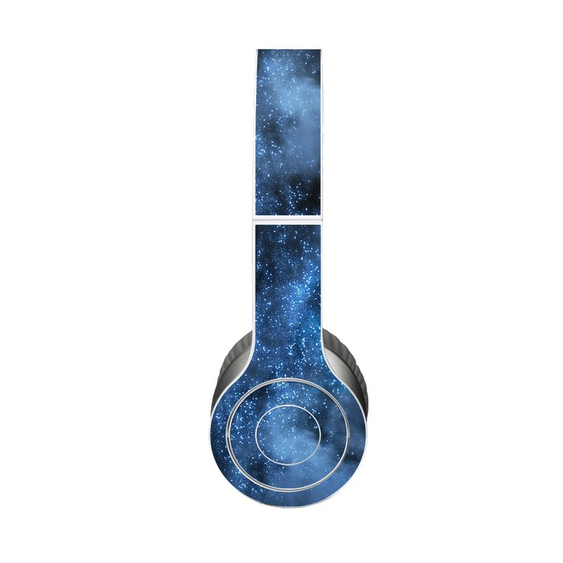 Beats Solo HD Skin design of Sky, Atmosphere, Black, Blue, Outer space, Atmospheric phenomenon, Astronomical object, Darkness, Universe, Space with black, blue colors