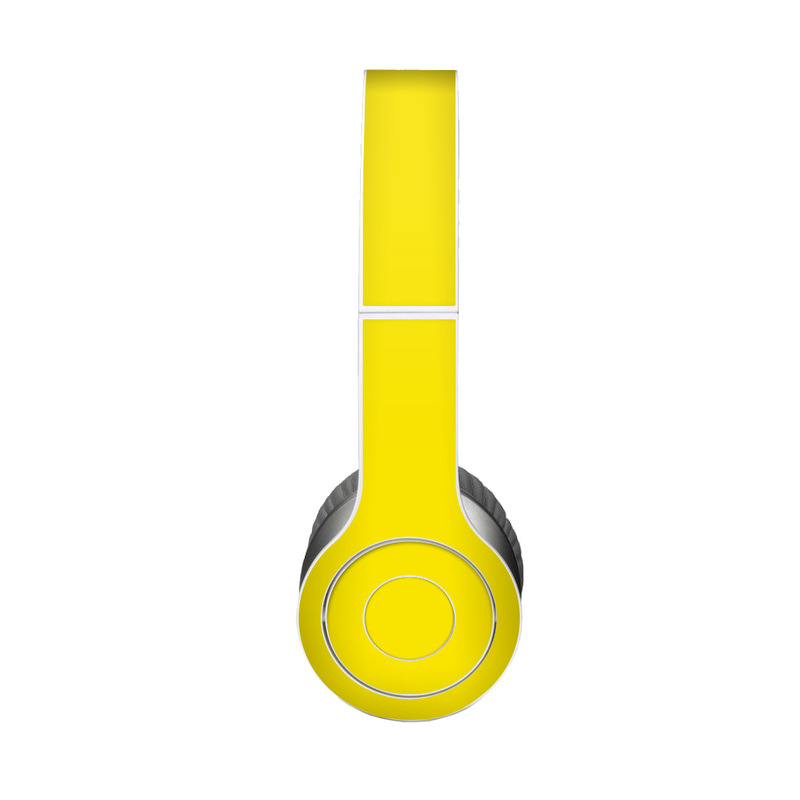 Solid State Yellow Beats Solo HD Skin
