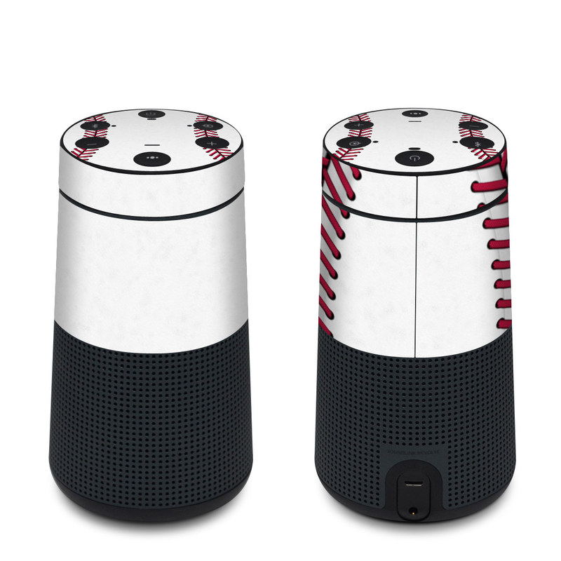Bose SoundLink Revolve Skin design of Red, Line, Pink, Parallel, Paper with white, red colors