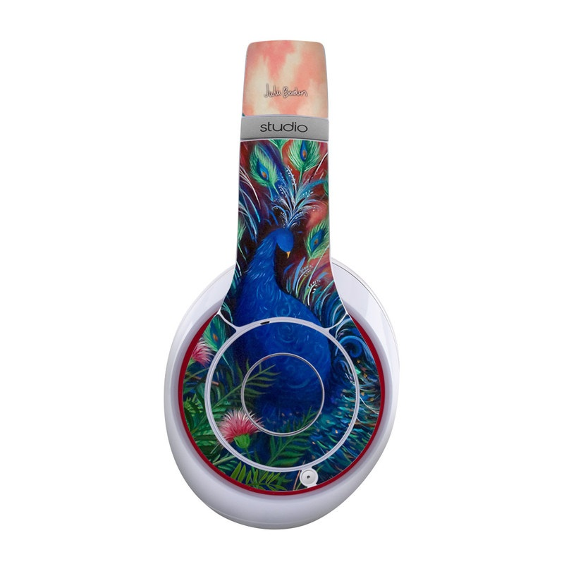 Coral Peacock Beats Studio Wireless Skin
