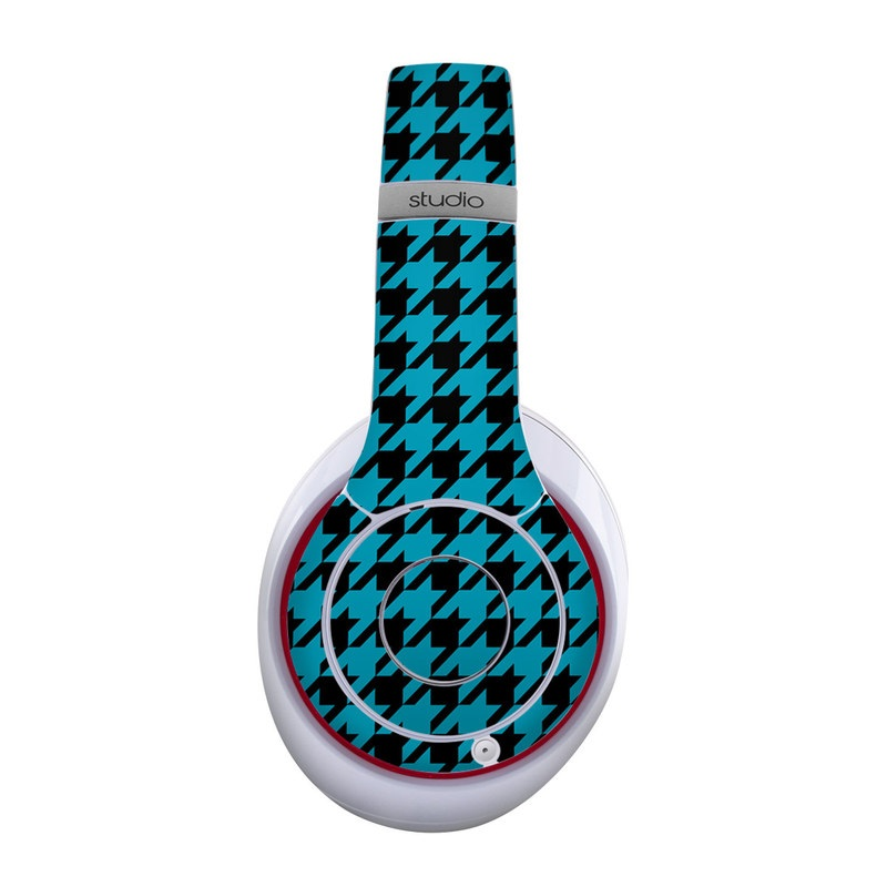 Teal Houndstooth Beats Studio Wireless Skin