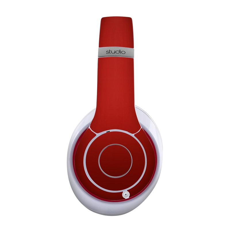Red Burst Beats Studio Wireless Skin
