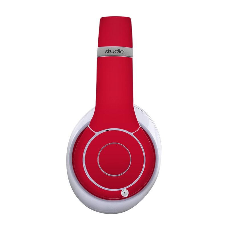 Solid State Red Beats Studio Wireless Skin