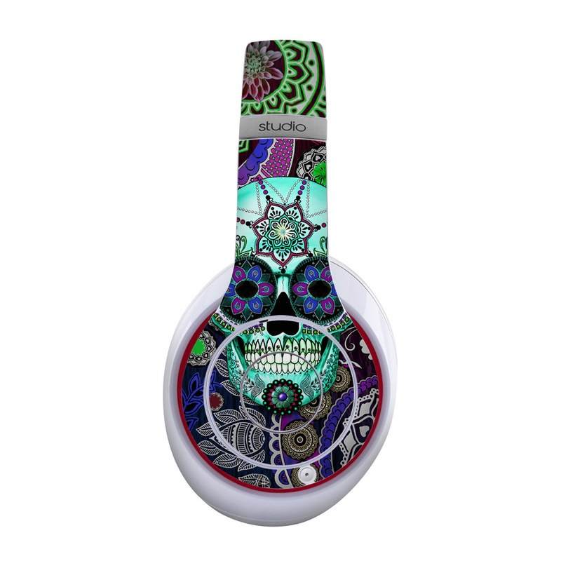 Sugar Skull Sombrero Beats Studio Wireless Skin
