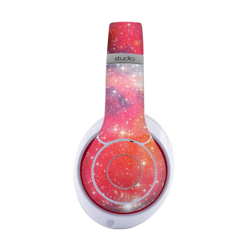 Beats Studio3 Wireless Skin design of Nebula, Sky, Astronomical object, Outer space, Atmosphere, Universe, Space, Galaxy, Celestial event, Star with white, black, red, orange, yellow, blue colors