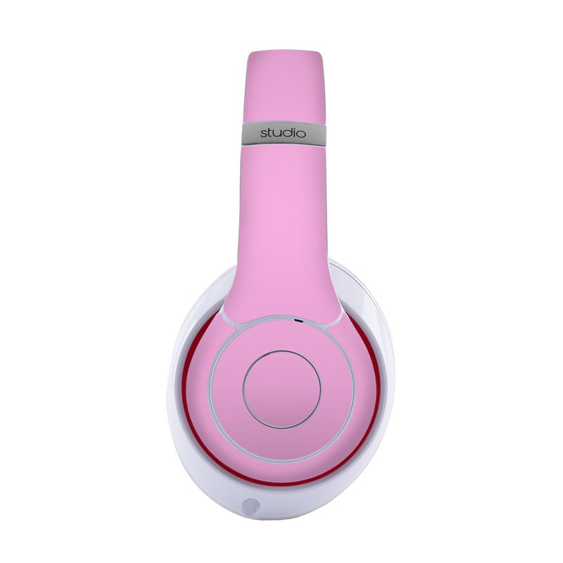 Beats Studio3 Wireless Skin design of Pink, Violet, Purple, Red, Magenta, Lilac, Sky, Material property, Peach with pink colors
