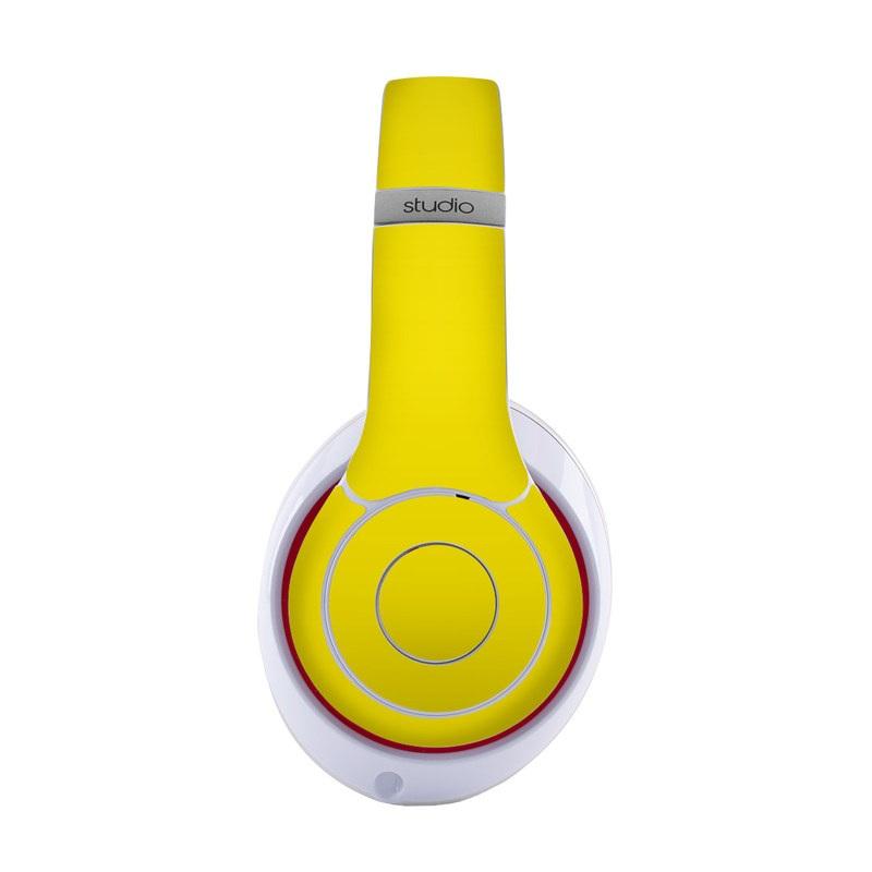 Solid State Yellow Beats Studio3 Wireless Skin