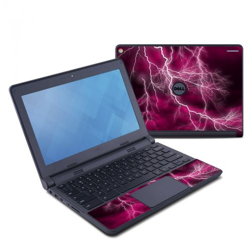 Apocalypse Pink Dell Chromebook 11 Skin