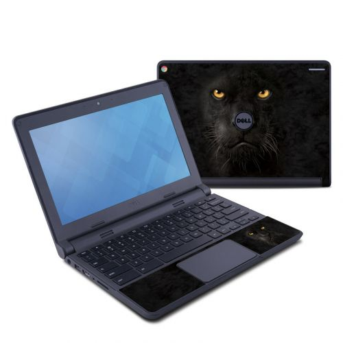 Black Panther Dell Chromebook 11 Skin