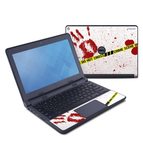 Crime Scene Revisited Dell Chromebook 11 Skin