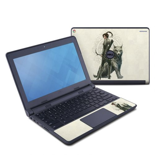 Half Elf Girl Dell Chromebook 11 Skin