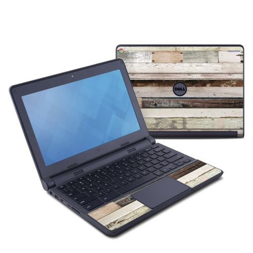 Eclectic Wood Dell Chromebook 11 Skin