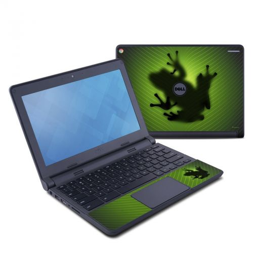 Frog Dell Chromebook 11 Skin