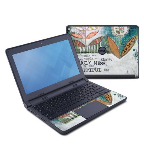 Holy Mess Dell Chromebook 11 Skin