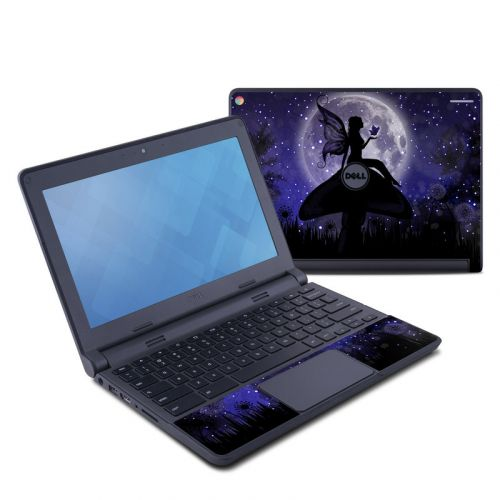 Moonlit Fairy Dell Chromebook 11 Skin