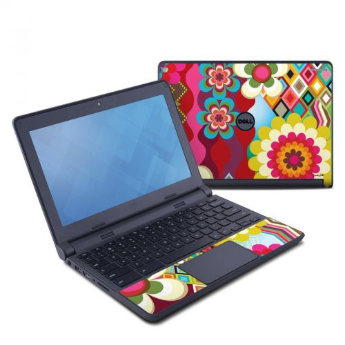 Mosaic Dell Chromebook 11 Skin