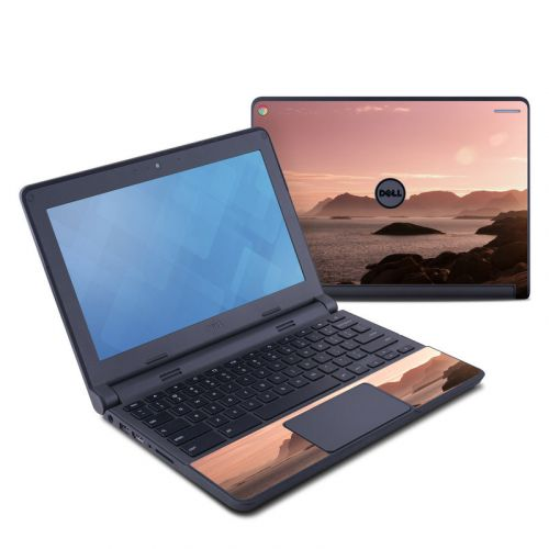 Pink Sea Dell Chromebook 11 Skin