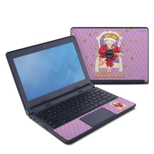 Queen Mother Dell Chromebook 11 Skin