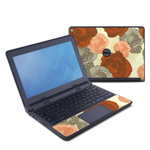 Roses Dell Chromebook 11 Skin
