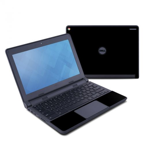 Solid State Black Dell Chromebook 11 Skin