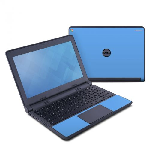 Solid State Blue Dell Chromebook 11 Skin