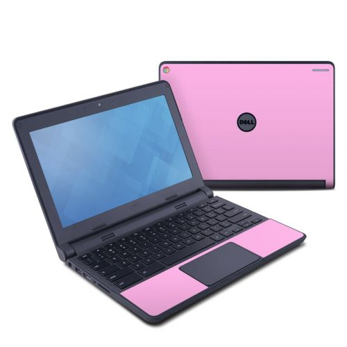 Solid State Pink Dell Chromebook 11 Skin