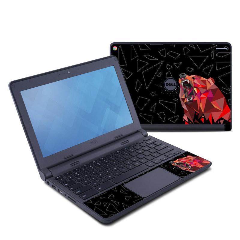 Bears Hate Math Dell Chromebook 11 Skin