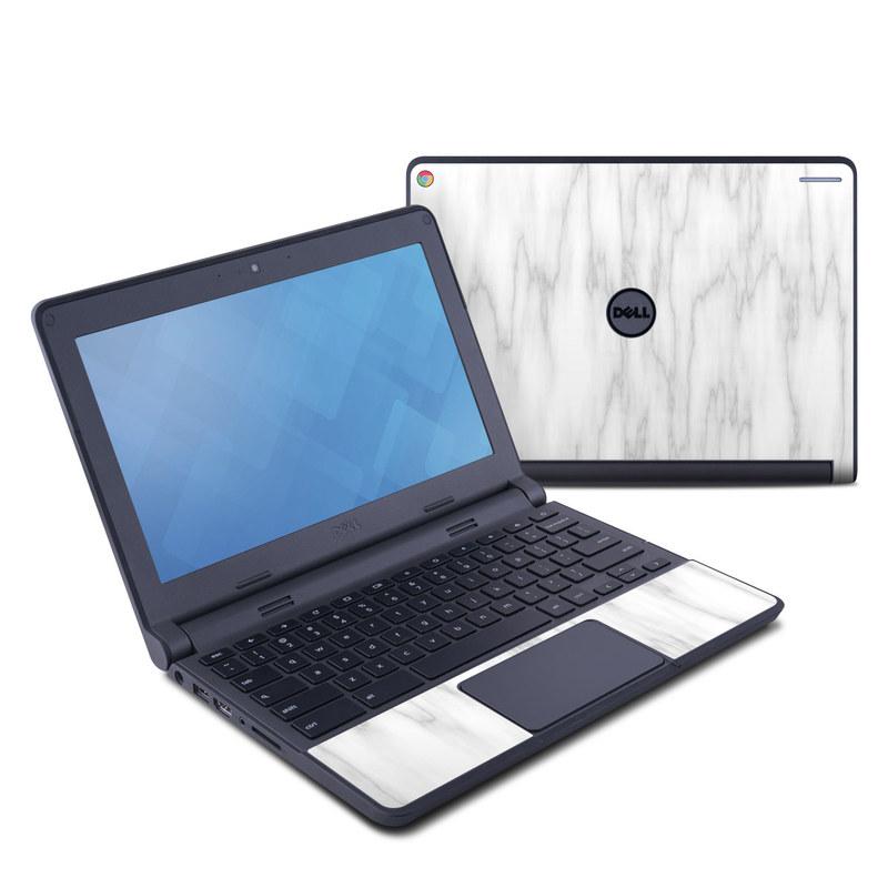 Bianco Marble Dell Chromebook 11 Skin
