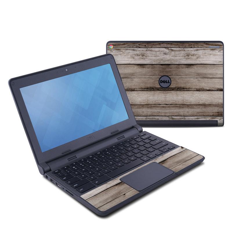Barn Wood Dell Chromebook 11 Skin