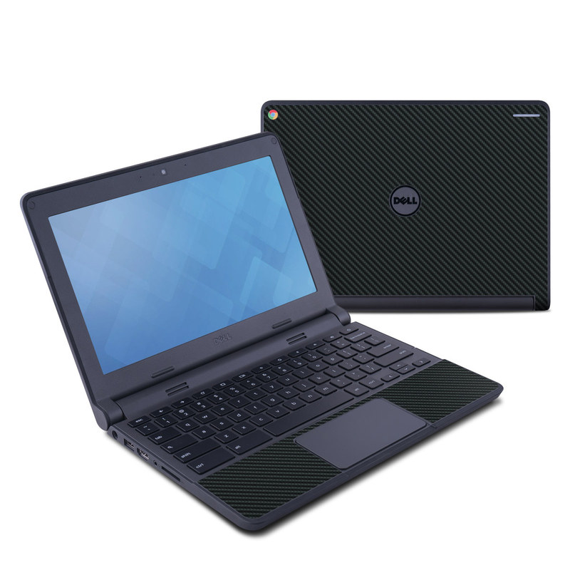 Carbon Dell Chromebook 11 Skin
