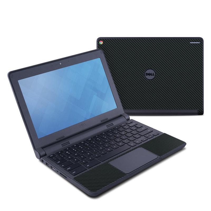 Carbon Dell Chromebook 11 Skin