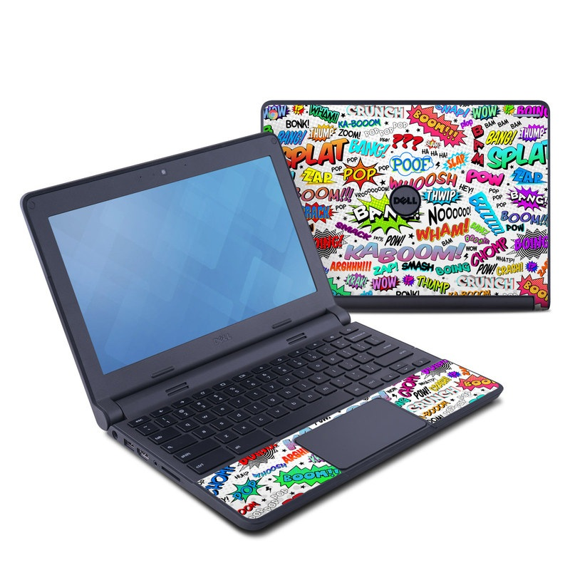 Comics Dell Chromebook 11 Skin
