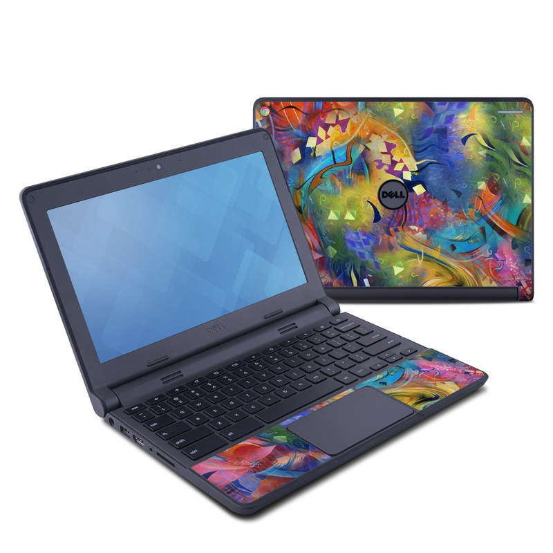 Fascination Dell Chromebook 11 Skin