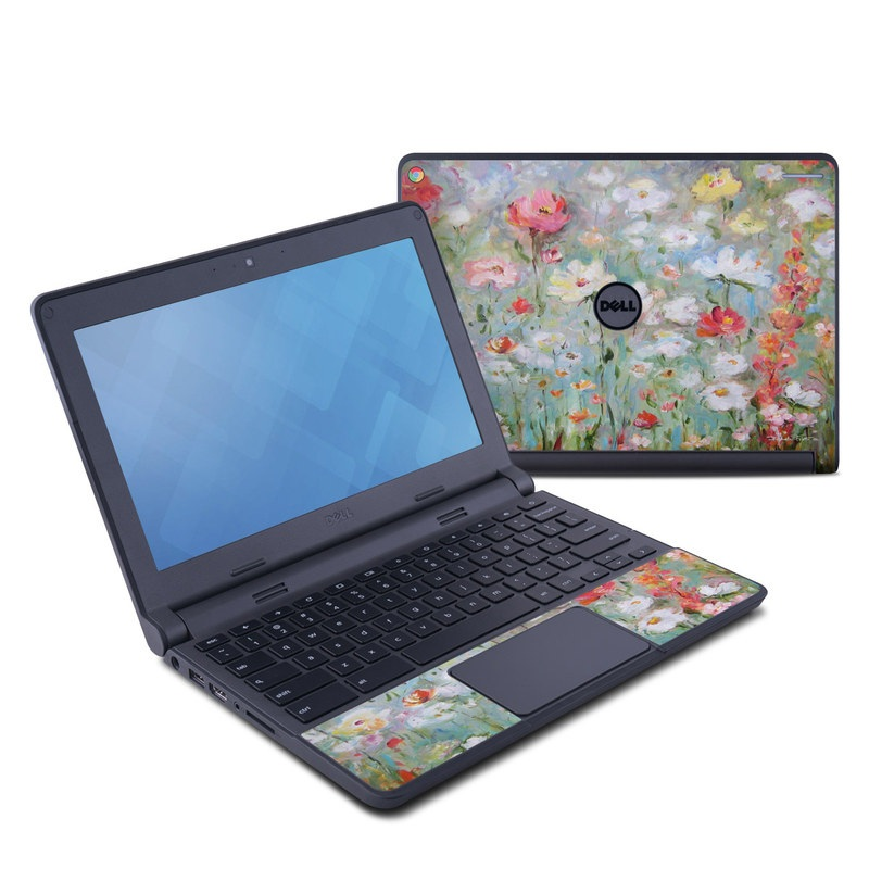 Flower Blooms Dell Chromebook 11 Skin